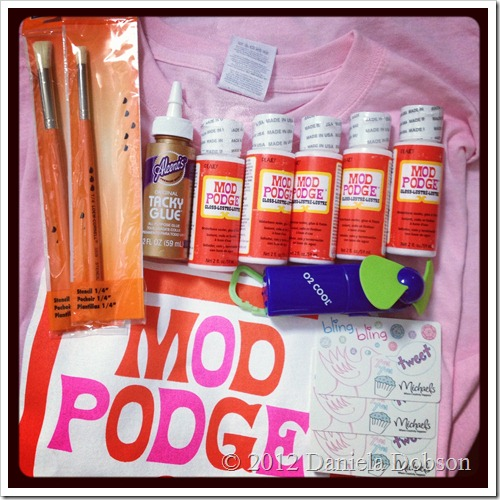 Mod Podge free goodies from Michaels
