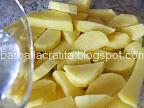 Cartofi cu cimbru la cuptor Mancare de post