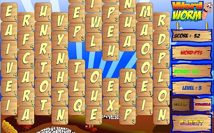 Word Worm HD Screenshot 2
