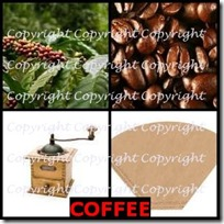 COFFEE- 4 Pics 1 Word Answers 3 Letters