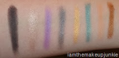 Kat Von D Spellbinding  Palette _first two rows