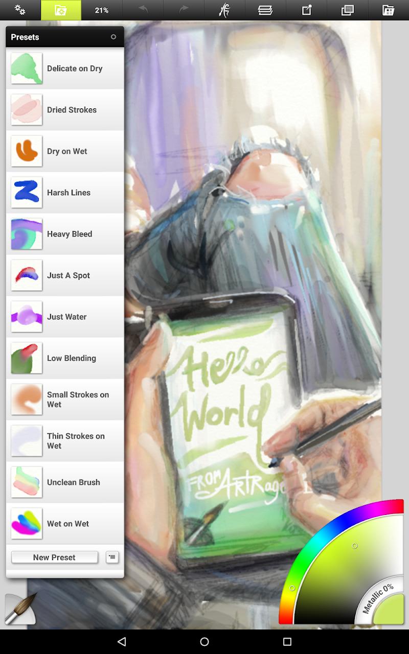 ArtRage: Draw, Paint, Create Screenshot 12