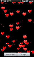 Screenshot of My Romantic Live Wallpaper