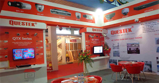 showroom camera an ninh questek