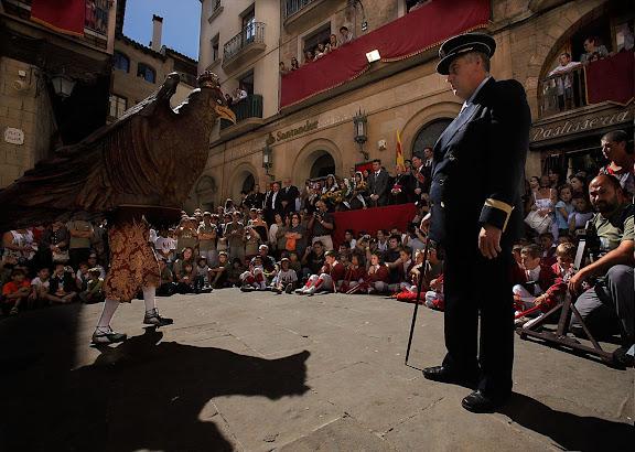 L'Àliga Festa major de Solsona. Solsona, Solsonès, Lleida
