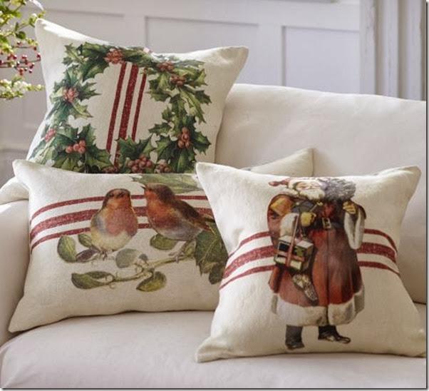 dropcloth pillows by PB