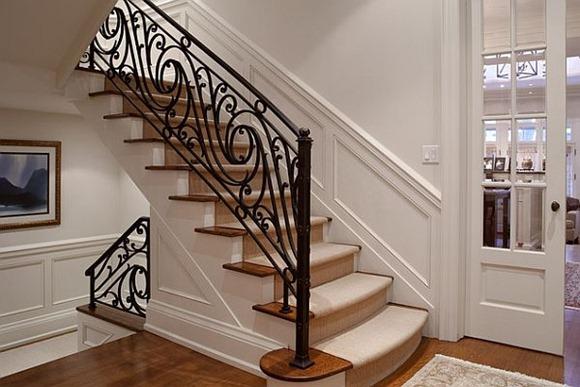 Estilos de escaleras con baranda muy originales - iDecorar