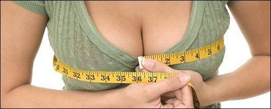 Волнующие формы женской груди