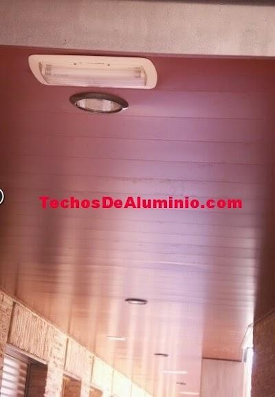 Techos aluminio Santa Coloma de Gramenet
