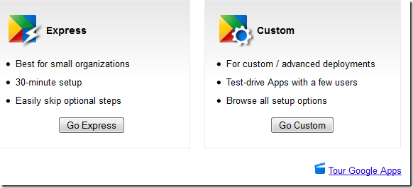 express and custom googleapps