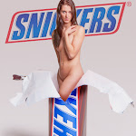Inspired by Mel Ramos - Snickers