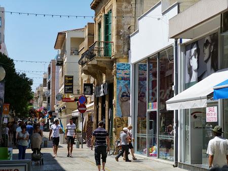 Obiective turistice Nicosia: strada Ledra