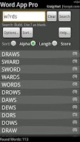Screenshot of Word App