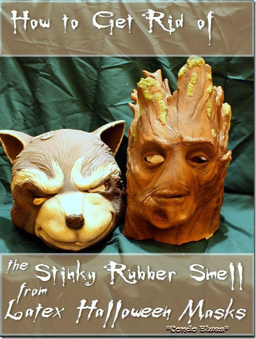 How to Get Rid of the Rubber Smell from Stinky Latex Halloween Masks