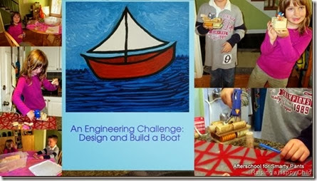 Build a Boat Engineering Challenge for Kids