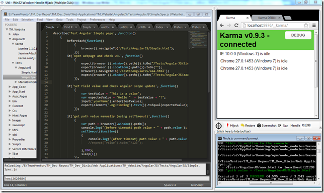 Dinis Cruz Blog: Adding KarmaJS support to WebStorm to automagically