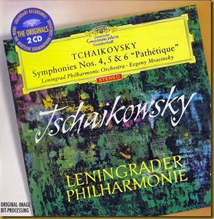 Tchaikovsky Mravinsky DG