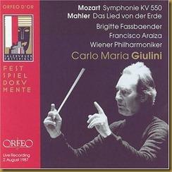 Mozart 40 Giulini Orfeo