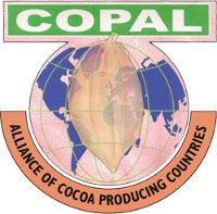 Logo of the Alliance of Cocoa Producing Countries (COPAL)