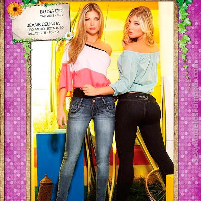 Angelica Jaramillo y Sofia Jaramillo Axxys Jeans Foto 26