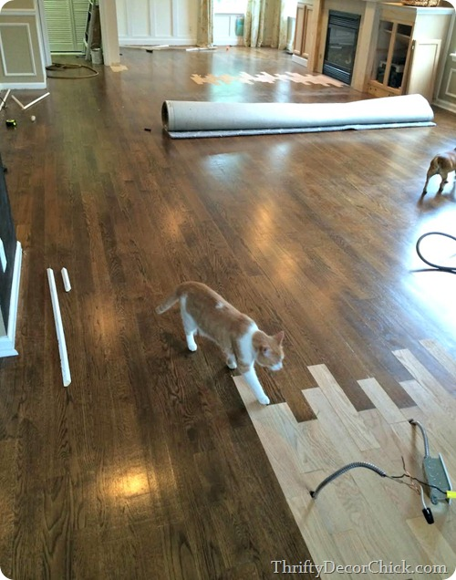 patching hardwood floors