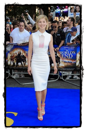 dejavu-victoria-beckham-Rosamund Pike World End Premieres London