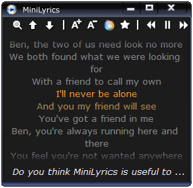 minilyrics-windows