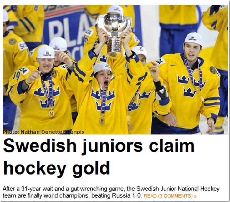 hockey gold