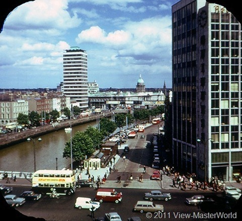 View-Master Dublin Eire and East Coast (C344), Scene 3: The River Liffey
