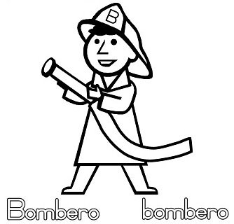 Colorear Dibujos De Bomberos