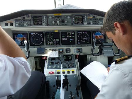 Gata de decolare spre Bucuresti