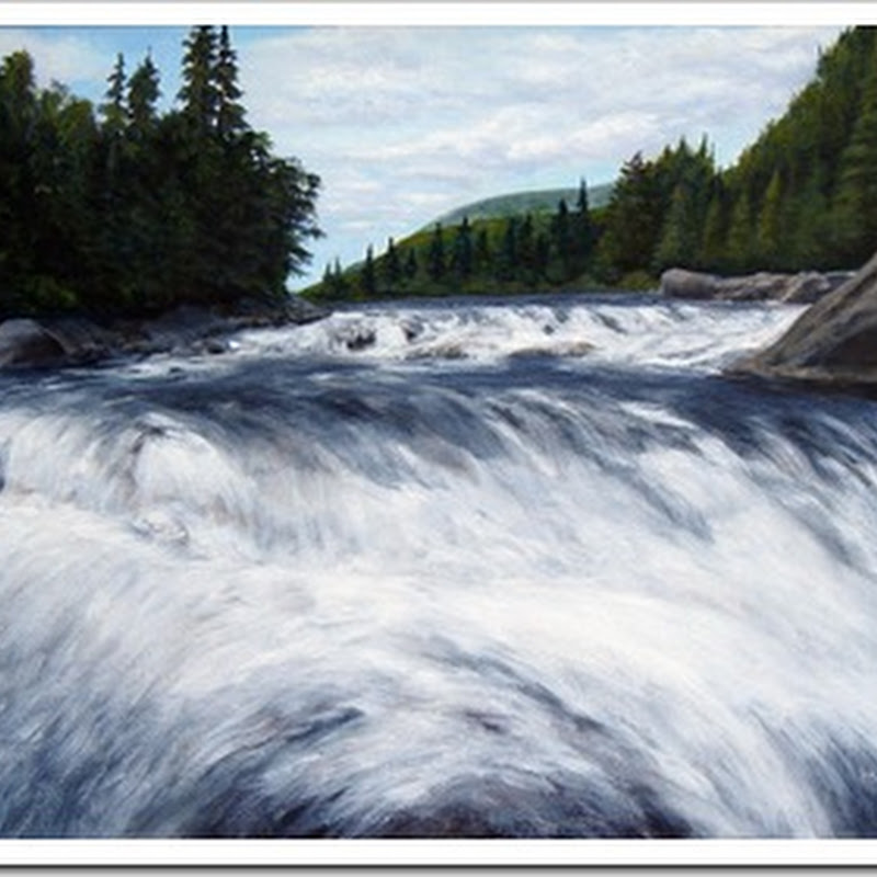 Warren Peterson - Landscape Paintings of the Canadian Wilderness
