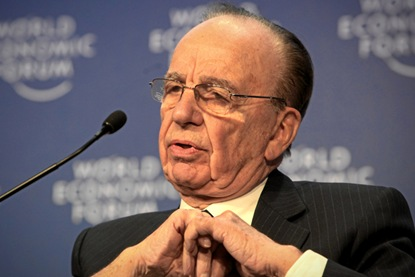 Rupert Murdoch - World Economic Forum Annual Meeting Davos 2009