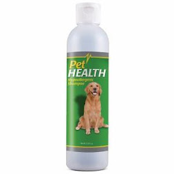 Shampoos :                 Hypoallergenic or Medicated