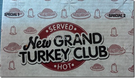 Arby's New Grand Turkey Club
