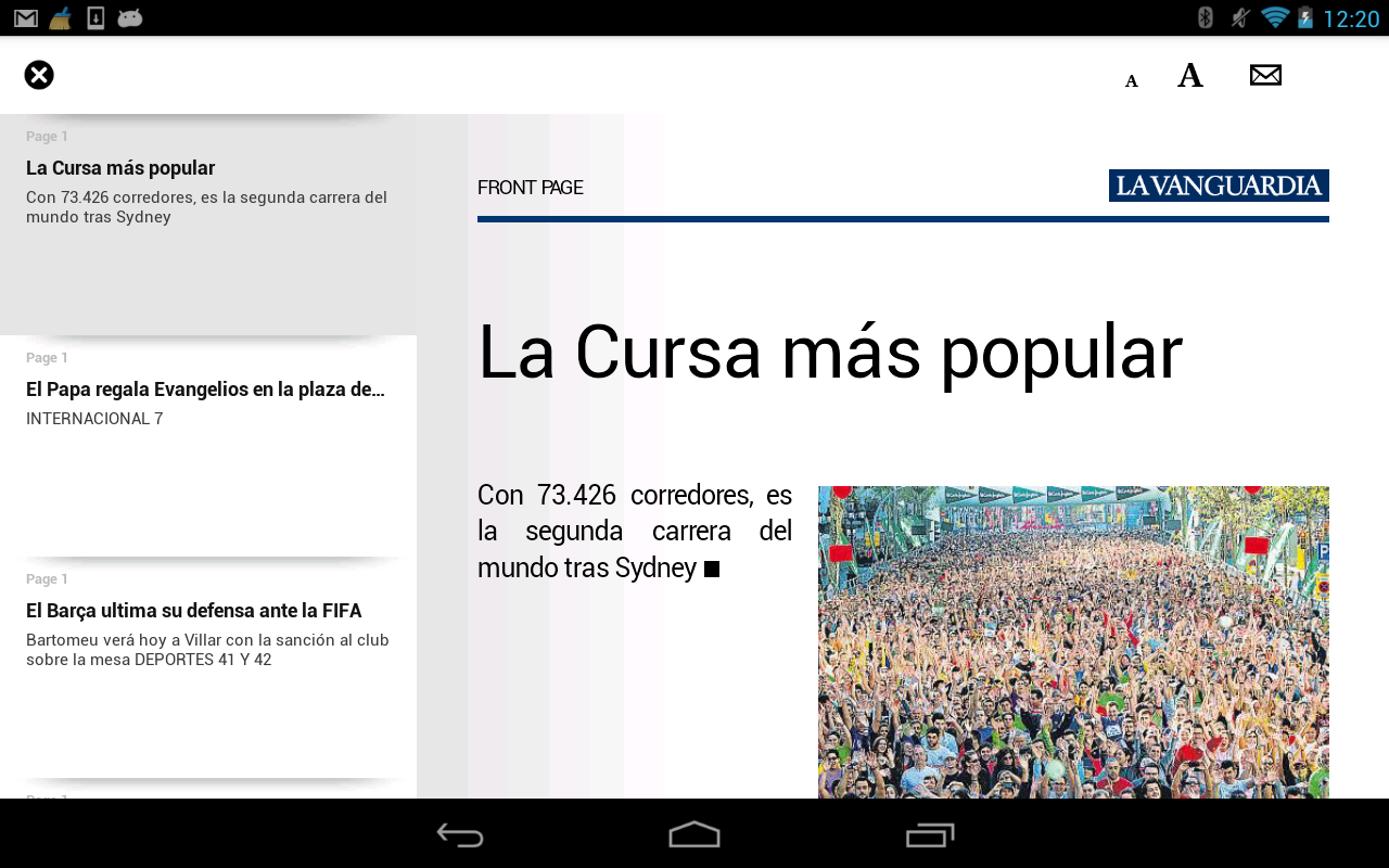 La vanguardia edici n impresa android apps on google play for Vanguardia concepto