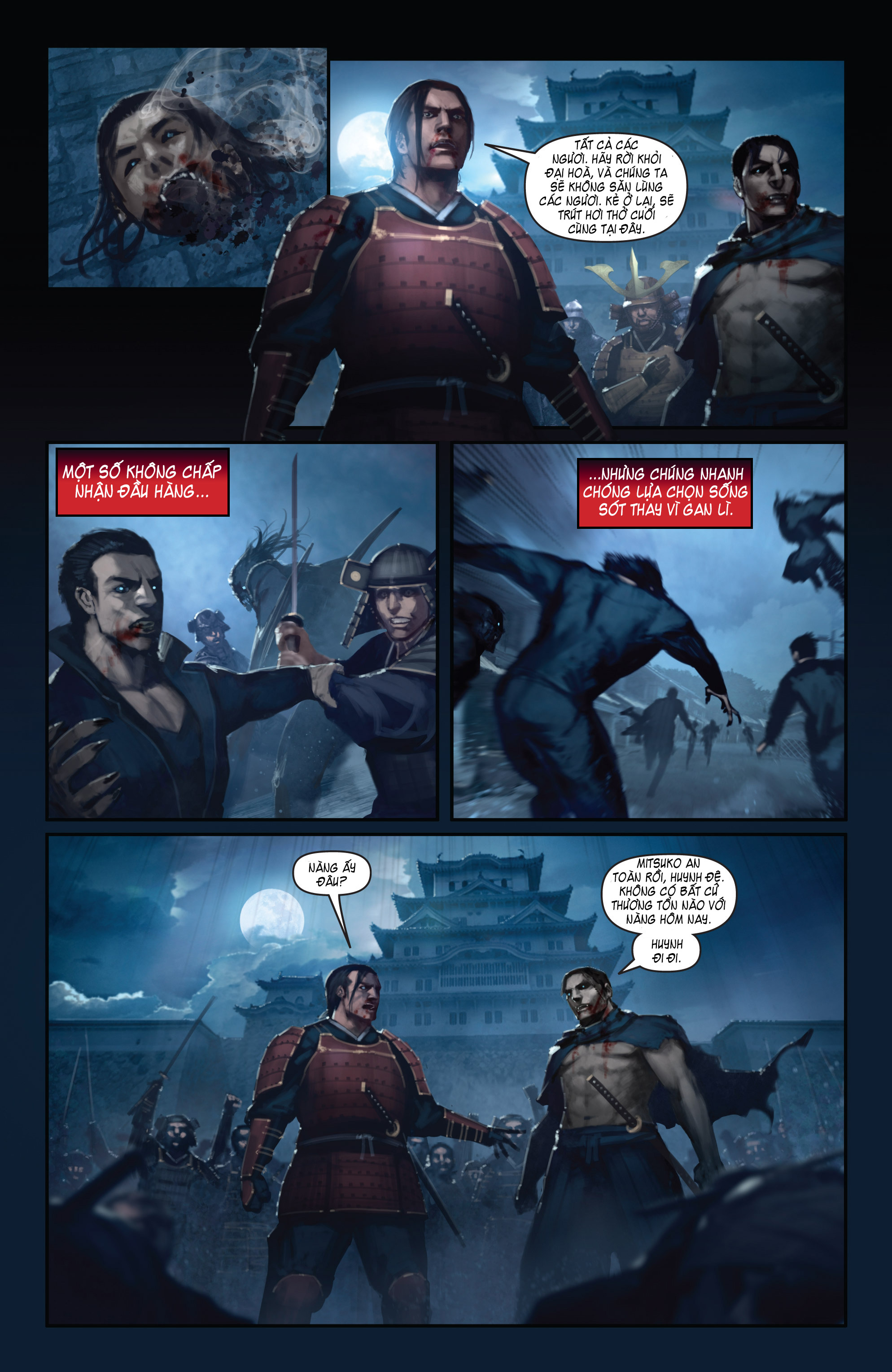 BUSHIDO - THE WAY OF THE WARRIOR chapter 5 - end trang 21
