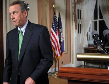 John Boehner Finishes Response to President's Speech on 7-25-11