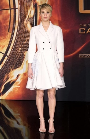 Jennifer Lawrence Hunger Games Catching Fire premire-berlin