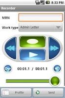 Screenshot of Winscribe MD