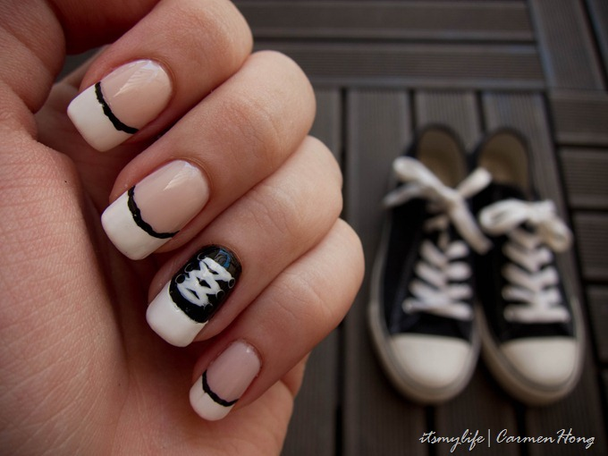 Nail Art Converse Shoes Inspired Its My Life