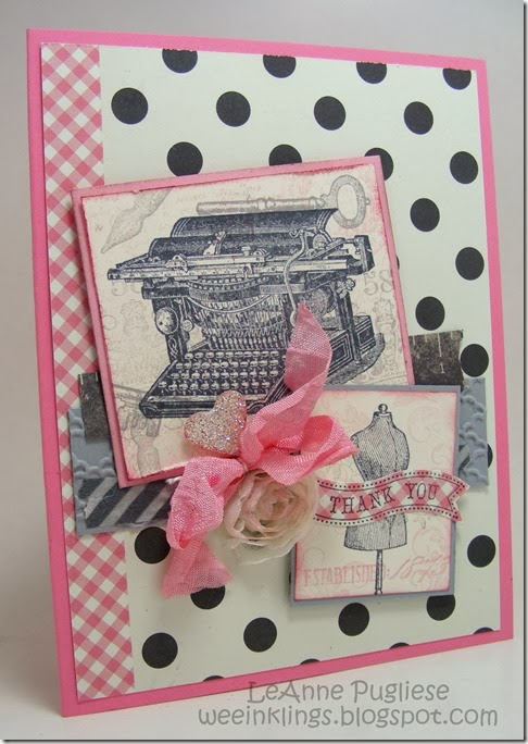 LeAnne Pugliese WeeInklings Stampin Up Established Elegance