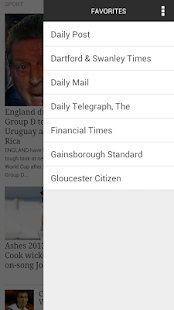 UK Newspapers - screenshot thumbnail
