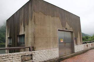 取水設備室
