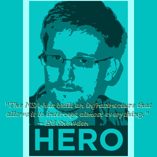 "quote from Ed Snowden ""The N.S.A. has built an infrastructure that allows it to intercept almost everything."""