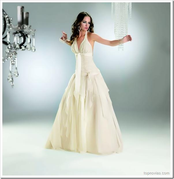 Vestidos de Novias Sencillos y Elegantes