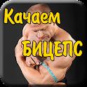 Качаем бицепс Упражнения Совет icon