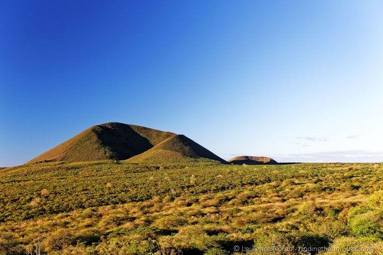 Floreana island volcano
