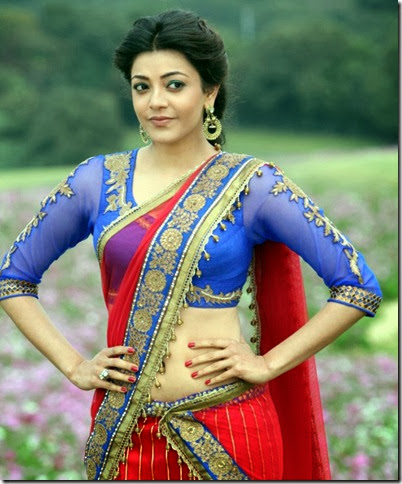 Actres Kajal Agarwal in Jilla Movie Latest Stills