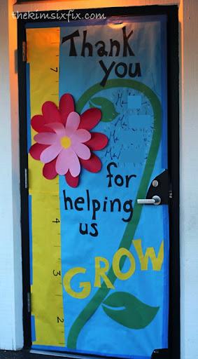 Helping Us Grow Door
